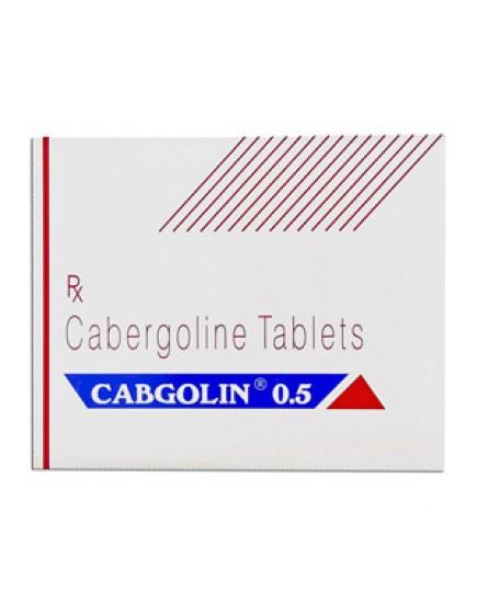 Cabgolin 0.25 mg versus